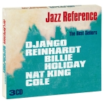 Django Reinhardt, Billie Holiday, Nat King Cole The Best Sellers (3 CD) Серия: Jazz Reference инфо 10552q.